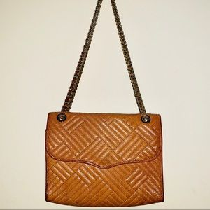Rebecca Minkoff quilted affair leather bag❣️